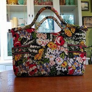Vera Bradley cotton Floral Handbag